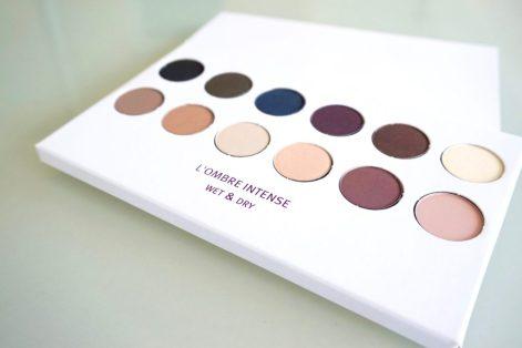 palette l'ombre intense l'atelier maquillage paris