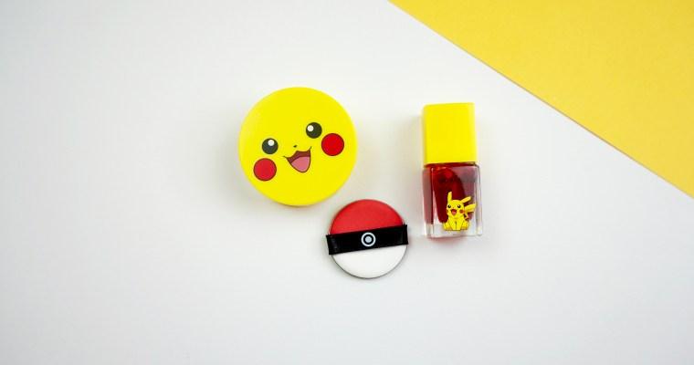 Attrapez-les Tous ! Le Maquillage Pokémon débarque avec TonyMoly !