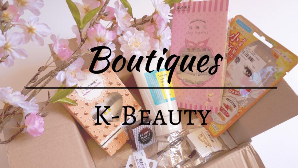 Boutiques K-Beauty