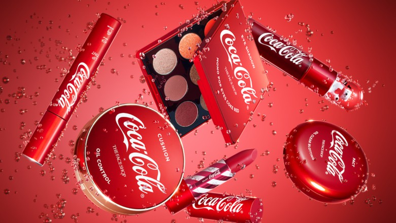 Collection Coca-Cola x The Face Shop !