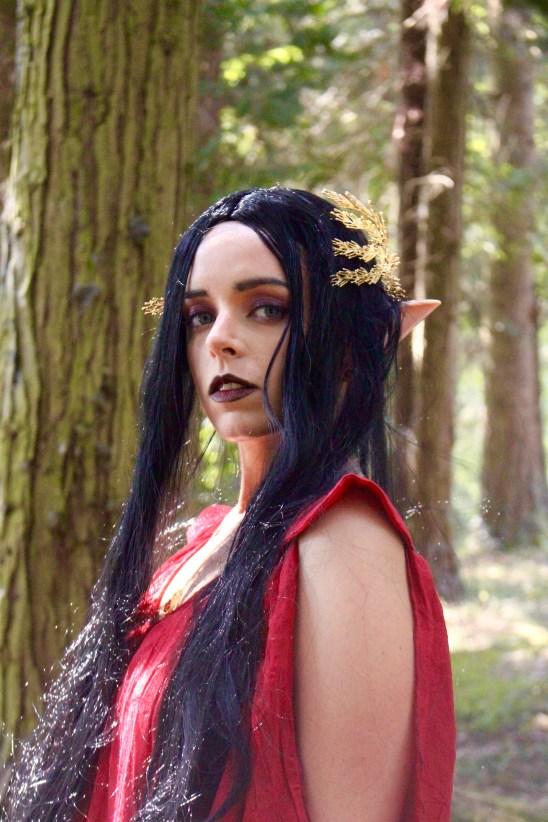 Dark Elfe Halloween - Elora