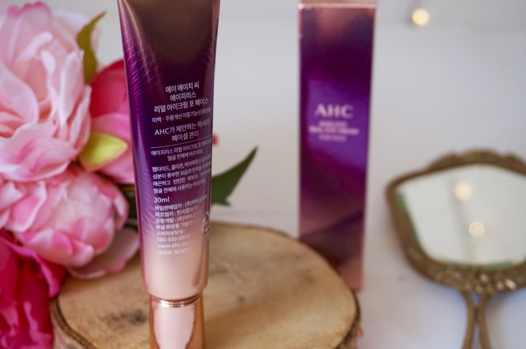 AHC Ageless Real Eye Cream For Face