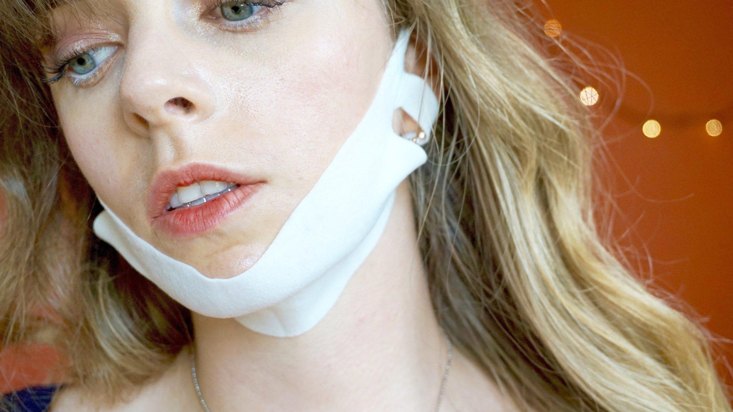 Masque V-Line : la nouvelle tendance venue d'Asie !