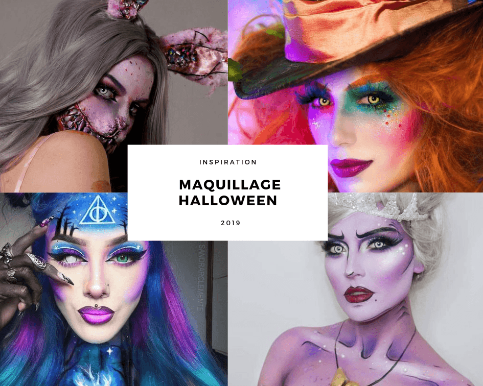 Inspiration Maquillage Halloween 2019