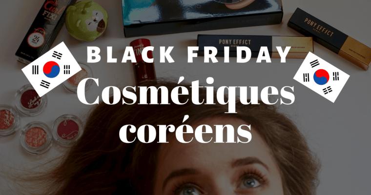 Promotions Cosmétiques Coréens Black Friday et Cyber Monday !