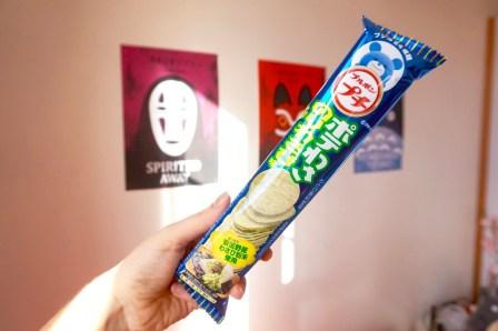 Candysan test chips wasabi