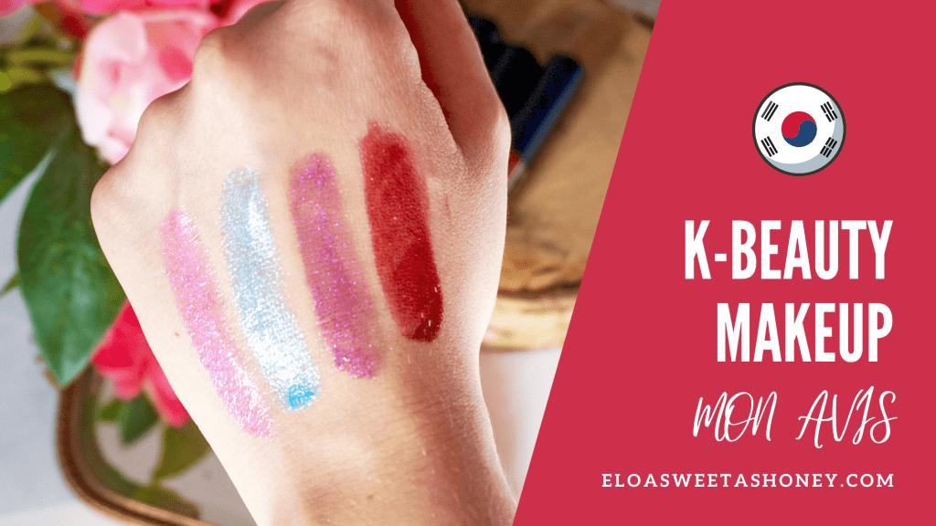 K-Beauty Avis Cosmétiques coréens Maquillage