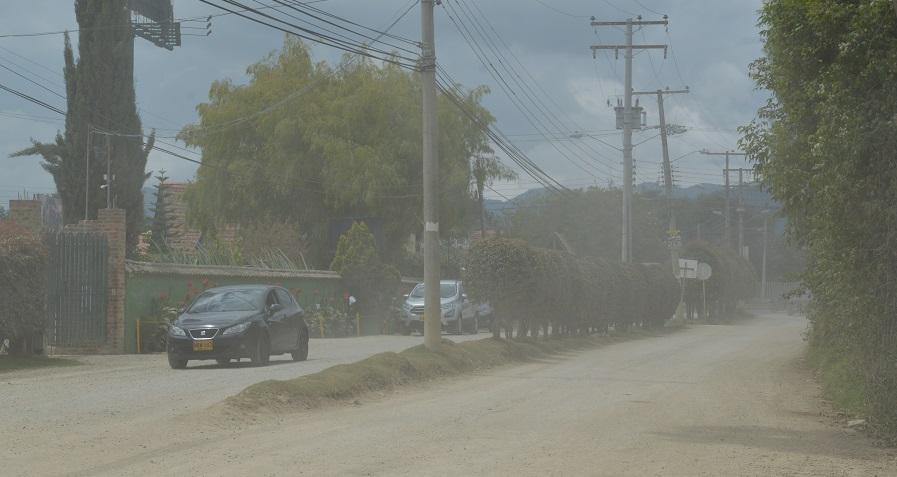 Cajicá: En Calahorra sector Buena Suerte solicitan la pavimentación de sus calles