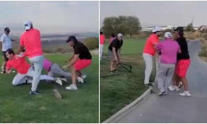 """Pelea de ´riquitos´ en club de golf. """"Les hace falta calle"""". (+VIDEO)"""
