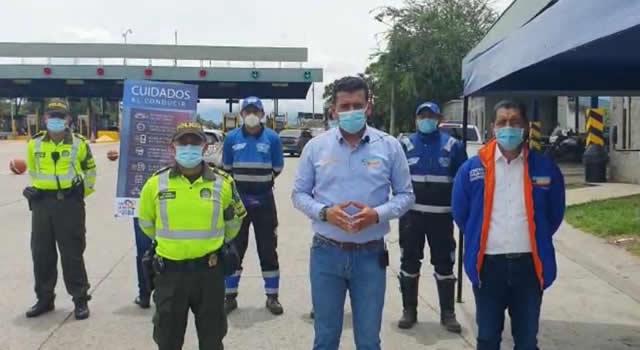 Instalan seis 'puestos salvavidas' para motociclistas en Cundinamarca