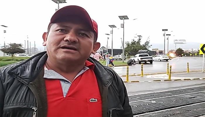 Un camionero bien parado le habla duro al Gobierno. Desde Cajicá. (+VIDEO)