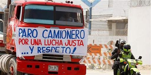 Por cierre de vías habría desabastecimiento de alimentos y vacunas en Cundinamarca