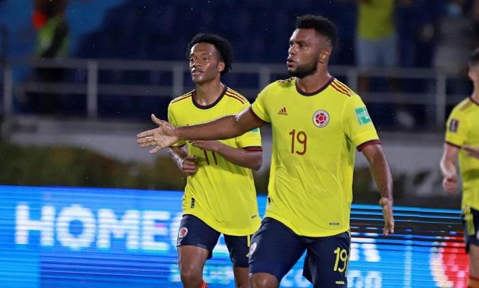 ¡Sensacional, Borja salvó a Colombia! El partido terminó 2-2 en Barranquilla. (+VIDEO GOLES)