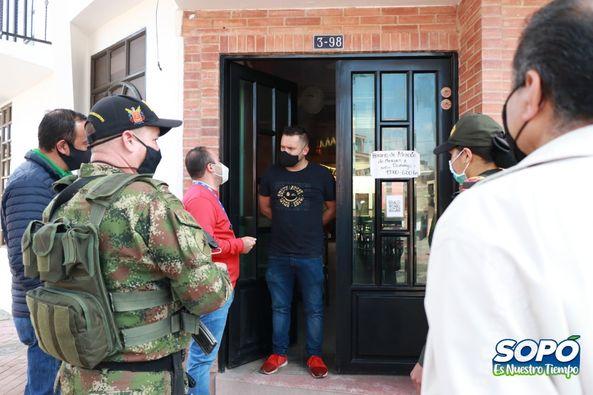 En Sopó adelantan campaña anti extorsión