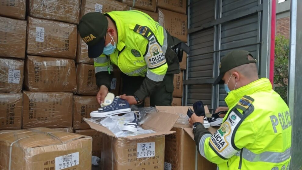 Cota: realizan aprehensión de mercancías de contrabando por 237 millones de pesos