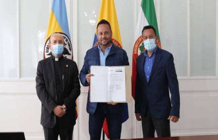 Zipaquirá: Firmar acuerdo de descuentos para estudiantes de la Unicervantes