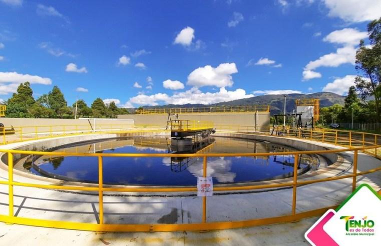 Tenjo: Entró en funcionamiento Planta de Tratamiento de Aguas Residuales