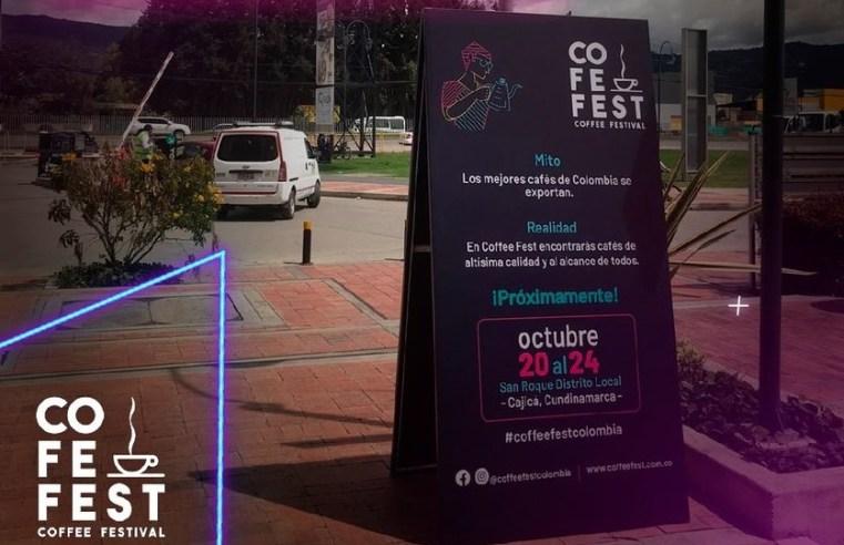 Cajicá: Hoy miércoles inicia el Coffee Fest Colombia