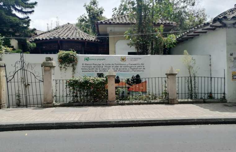 Cajicá: Preocupación por deterioro de la casa Ospina