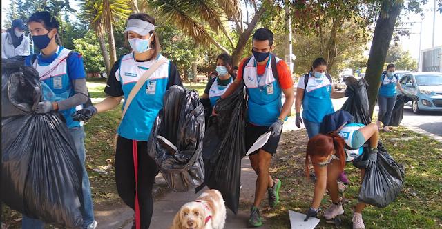 Decathlon Chía se unió al Día Mundial de la Limpieza