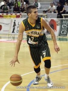 Jorge Lafuente la temporada pasada./Foto: C.Pascual