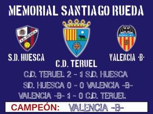 """Valencia """"B"""" campeón del memorial Santiago Rueda"""