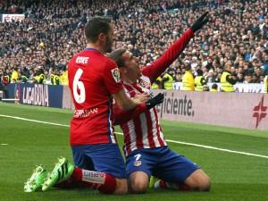 Griezmann celebra el gol / Foto: AMGsports