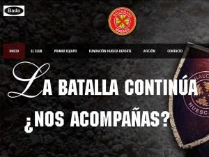 BM Huesca ha estrenado página web