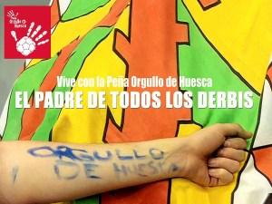 Imagen del cartel del derbi