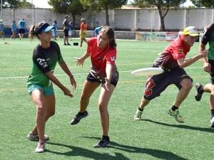 Momento de uno de los partidos del torneo / Foto:  BolskanDisc Ultimate Huesca