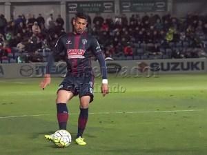 Nagore en un partido de la temporada pasada / Foto: C.Pascual