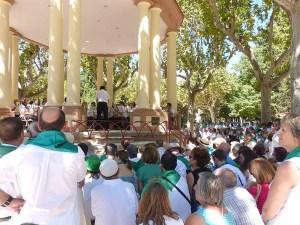Mucho público en el concierto de la banda / Foto: radiohuesca.com