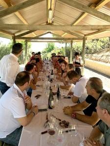 Momento de la comida / Foto: BM Huesca