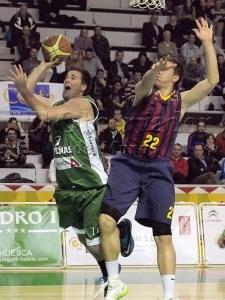 José Malo con la camiseta  peñista hace dos temporadas / Foto: C.Pascual
