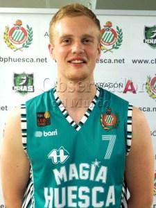Olaf Schaftenaar ya no es jugador del Magia Huesca / Foto: Magia Huesca