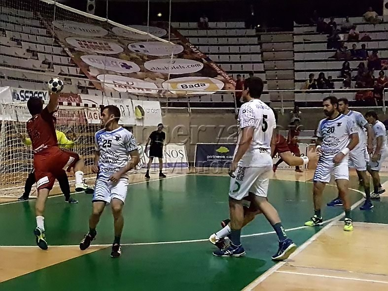 Momento del partido / Foto: Miguel Pimedo