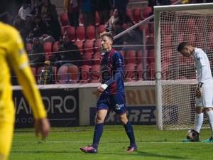Cmiljanić fue titular en el partido de Copa contra Las Palmas / Foto: C.Pascual
