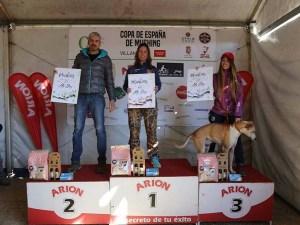 Podium de la prueba / Foto: Club Oscanicross