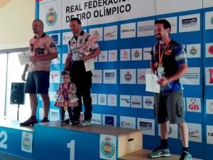 Sánchez Pardo subcampeón de la Copa Presidente en el podio / Foto: CT Loreto
