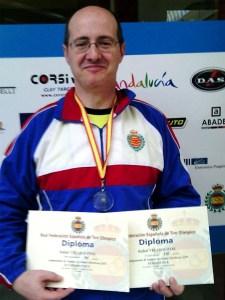 Rafael Velasco Otal campeón del campeonato social disputado el pasado sábado / Foto: CT Loreto