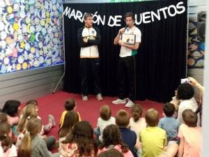 Jorge Lafuente y Mikel Motos / Foto: CB Peñas