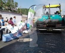 Inicia rehabilitación del camino de acceso a Santa Cruz Escandón