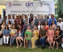 """Presentan candidatas a """"Flor más bella del campo"""" en Escobedo"""