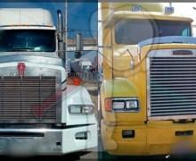 Aseguran tres vehículos y dos tracto camiones con reporte de robo