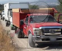 Localizan siete vehículos en Cerro Gordo con hidrocarburo ilícito