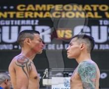 "Andrés ""Jaguar"" campeón mundial peso superpluma"