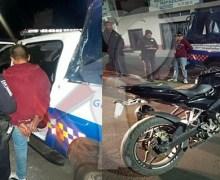 Detienen a sujeto por presunto robo de motocicleta en SJR