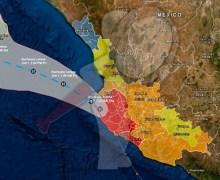 """Alerta Naranja en 4 estados por """"Lorena"""""""