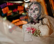 "Con concurso de ""Catrinas"" concluyó Festival de Día de Muertos en SJR"
