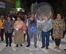 Entrega edil obras de urbanización en el Sauz Bajo, Pedro Escobedo